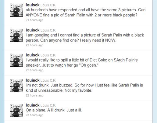 Louis C.K. Gets Today Show Introduction, Defends Sarah