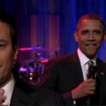 Jimmy Fallon Slow Jams The News With President Obama (video)