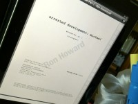 "Ron Howard releases image of new ""Arrested Development"" script"
