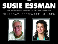 Win a pair of tickets to spend an evening with Susie Essman and Pat Cooper live!