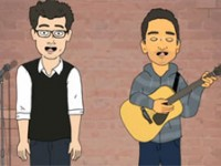 Myq Kaplan and Micah Sherman's animated Comedian National Anthem