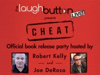 The Laugh Button Live! Presents Cheat book release party