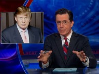 "Stephen Colbert to Donald Trump, ""I'll give you $1 Million dollars if you let me dip my balls in your mouth"" (video)"