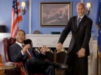 Key & Peele's response to Obama winning the election involves the Hammer dance