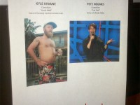 Yes, there is a difference between Kyle Kinane and Pete Holmes (photo)