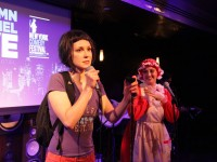 Checking out My Damn Channel Live during the New York Comedy Festival (photos)