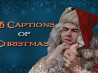 25 Captions of Christmas: December 14th, enter to win Daniel Tosh, Nick Swardson, and Kyle Cease prizes
