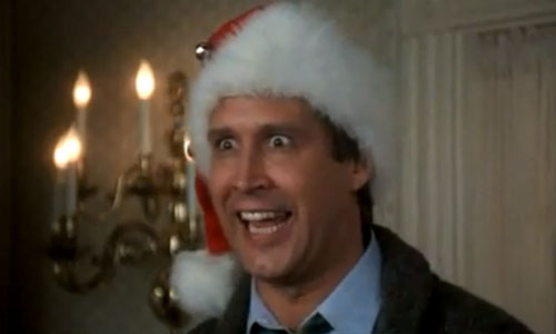 It's Christmas! Hallelujah! Holy Shit! Where's the Tylenol?