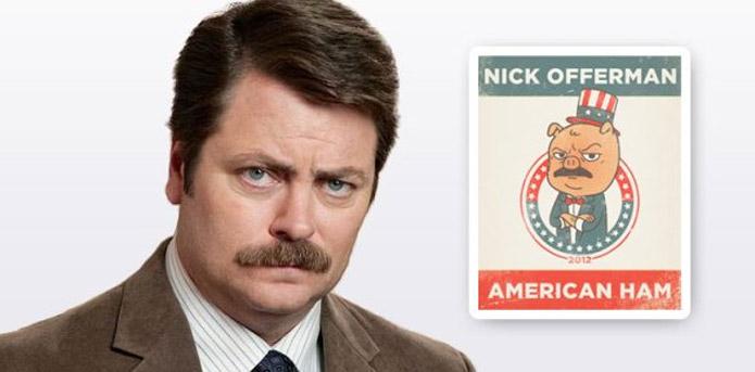 Nick Offerman - American Ham