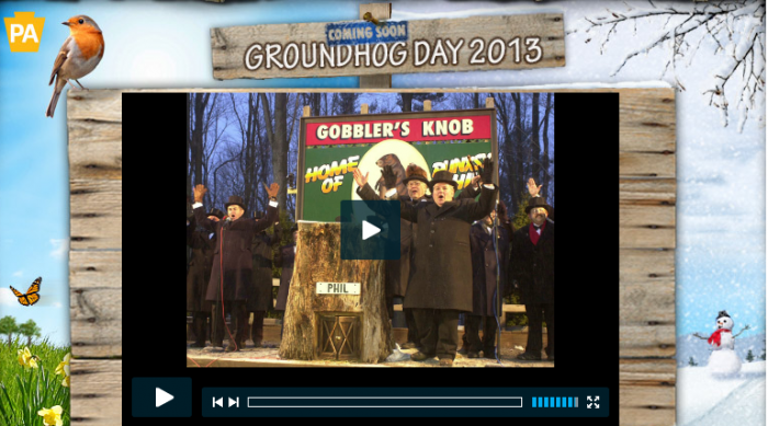 Groundhog Day, Punxatawney Phil