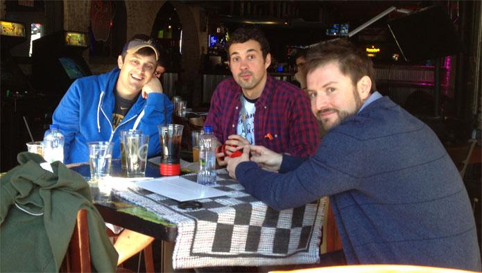 Nate, Mark, Adam
