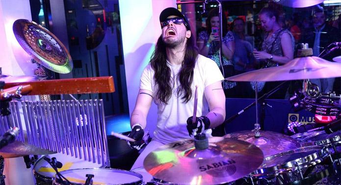 Andrew WK Drum-athon