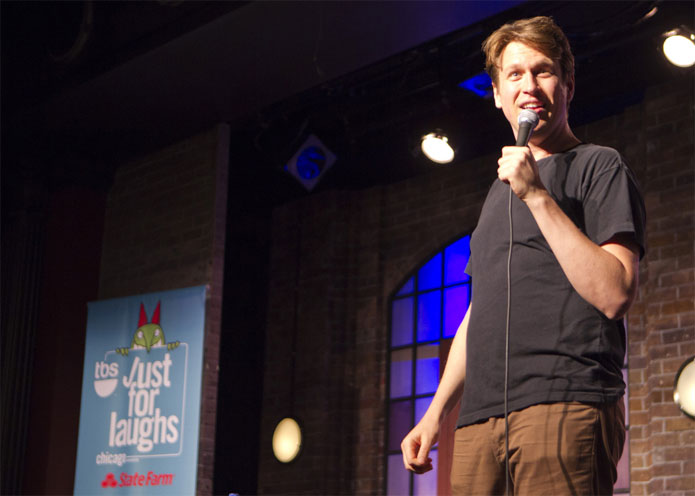 Pete Holmes photo: Mark Hill