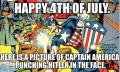 Happy 4th Of July 'Merica! Now go grill and blow sparkly things up!