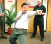 Ricky Gervais' David Brent character is getting a record deal?