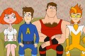 Check out Seth Meyers' new animated series 'The Awesomes'