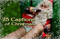 25 Captions of Christmas contest: December 3rd, Arm yourself this holiday season