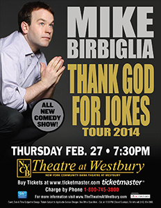 Mike Birbiglia at Westbury