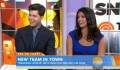 New SNL Weekend Update anchors Colin Jost and Cecily Strong talk about new jobs with the Today show