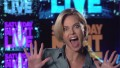 "Let's watch Charlize Theron ""Saturday Night Live"" promo clips"