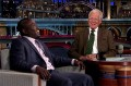 Hannibal Buress and Letterman had a pleasant conversation (video)