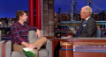 Michael Cera talks to David Letterman about road tripping to the world's largest basket