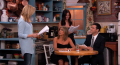 "Jennifer Aniston, Courteney Cox, Lisa Kudrow act out Jimmy Kimmel's ""Friends"" fan fiction"