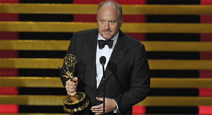 Louis C.K. wins an Emmy