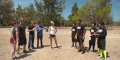 Nikki Glaser recruits her comedian friends for a game of football