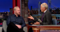 Jim Gaffigan talks about the downside of donut jokes on Letterman