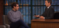 Andy Samberg talks about rejected SNL characters on 'Late Night with Seth Meyers'