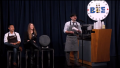 Jimmy Kimmel holds a barista spelling bee