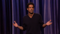 """Pete Correale on Conan, """"Technically, I'm not excited to be here"""""""