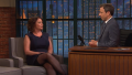 Rachel Dratch and Seth Meyers look back on their SNL days on 'Late Night'