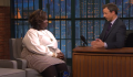 Retta talks Twitter on 'Late Night with Seth Meyers'