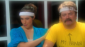 Megan Amram, Nick Offerman, Steve Agee and Rich Fulcher get physical for science