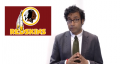 Hari Kondabolu is campaigning to change the Washington Redskins logo to a sunburned white guy