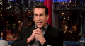 Rob Riggle talks about his time as a Marine in Afghanistan on Letterman