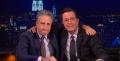 Stephen Colbert interviews former boss Jon Stewart on 'Colbert Report'