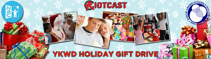 Riotcast Gift Drive