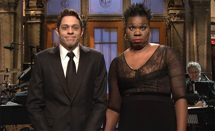 Pete and Leslie SNL 40