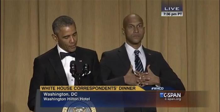 Luthor Obama WHCD