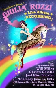 Guilia Rozzi Album Recording