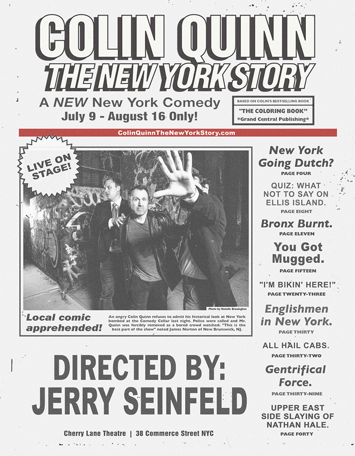 Colin Quinn The NY Story