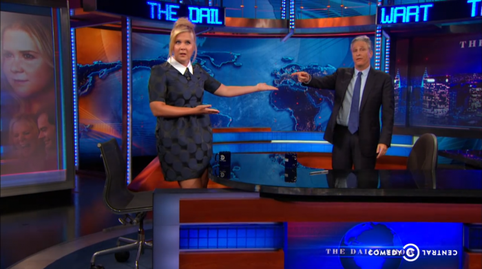 Amy Schumer on The Daily Show