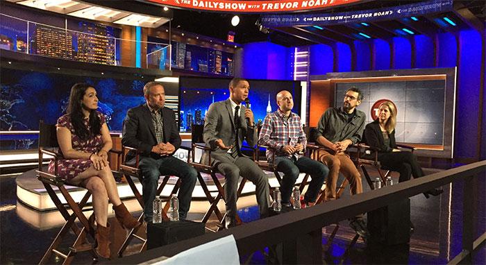 The Daily Show with Trevor Noah Q&A