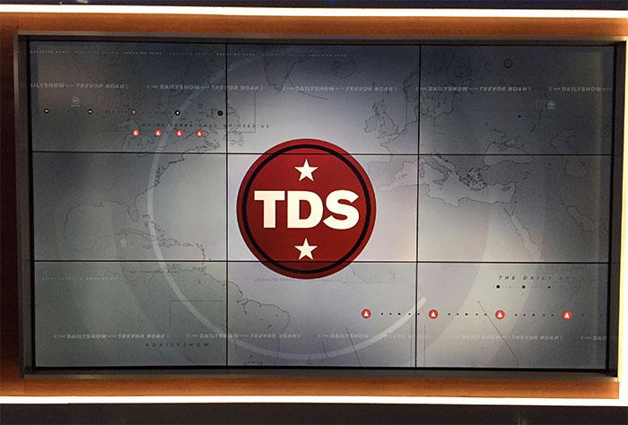 The Daily Show with Trevor Noah logo