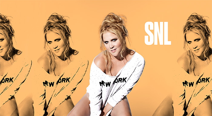 Amy Schumer SNL Bumpers