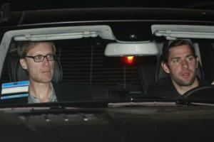 John Krasinski and Stephen Merchant