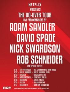 Adam Sandler Do Over Tour